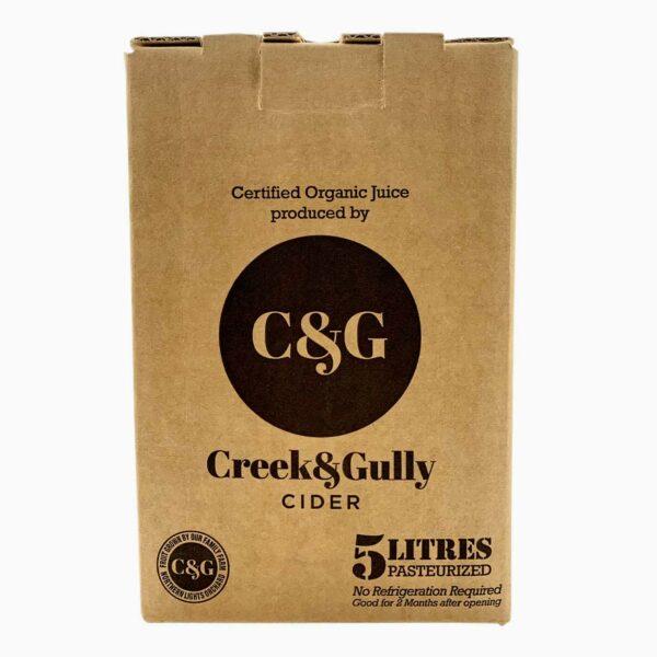 100% Certified Organic Apple Juice